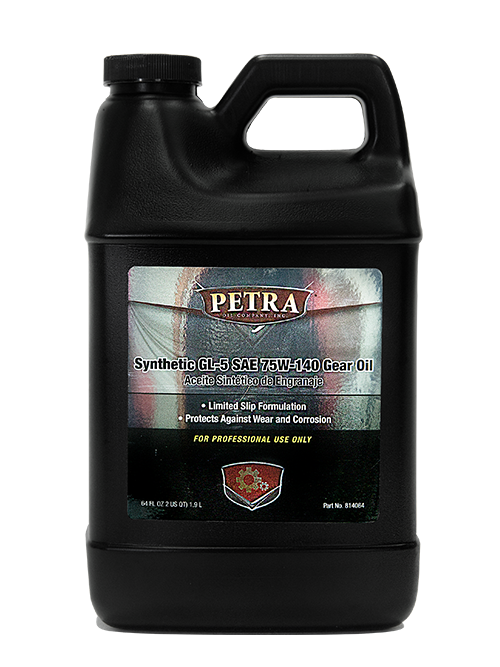 PN 814064 SAE 75W-140 Synthetic Gear Oil (64oz)